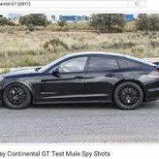 Bentley Continental GT eine Panamera Kopie?