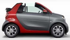 Günstiges Citycabrio das Smart For Two Cabrio