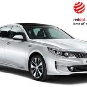 "Kia Optimal erhält Red Dot Desingpreis ""Best of the Best"""