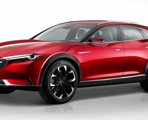 Mazda Koeru Studie als Blaupause für den neuen CX-4?