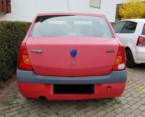 Dacia Logan verkaufen