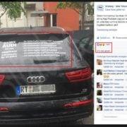 Social Media Protest gegen Audi