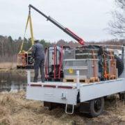 Unimog zur Wasseraufbereitung