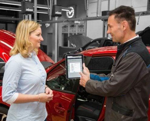Mazda erneut ausgezeichnet für guten guten Kundenservice
