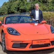 Porsche verlost Boxster auf dem Opernball in Leipzig