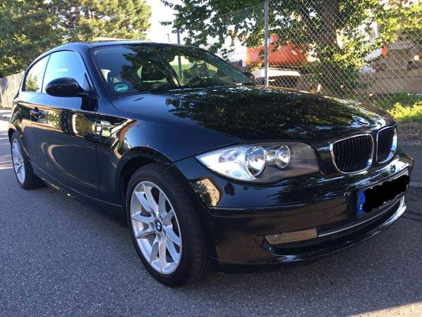 bmw 1er d mit motorschaden verkauft sandra w. Black Bedroom Furniture Sets. Home Design Ideas