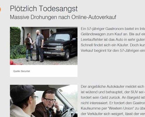 Aktenzeichen XY ungelöst Autoankauf Betrug