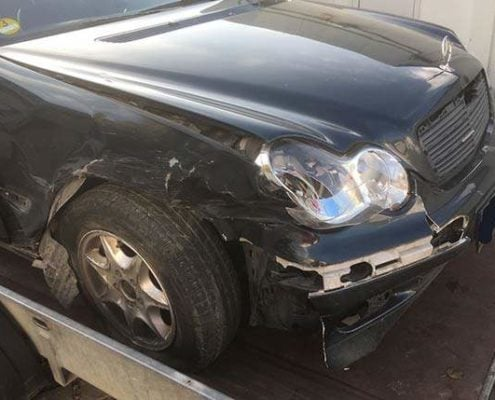 Unfallwagen Mercedes C Klasse