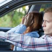 Stressfaktor Beifahrer