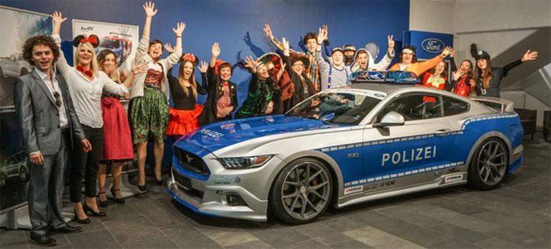 Ford unterstützt den Karnevall