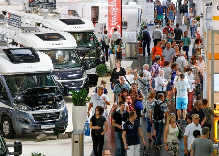 Caravan salon d sseldorf vom 26 august bis 3 september 2017 for Salon caravaning