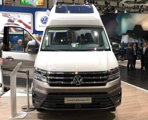 VW Grand California 600 - Frontansicht